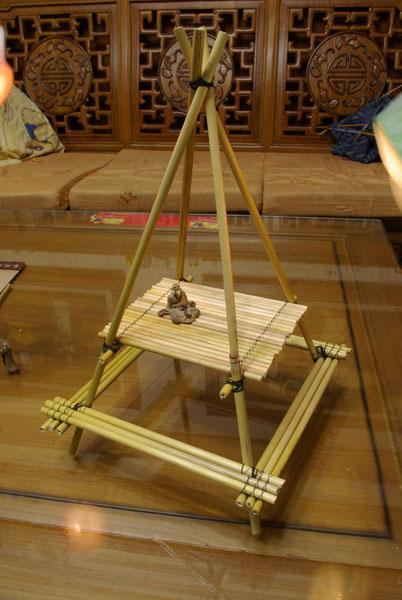 2009/03/08 蘆葦桌椅