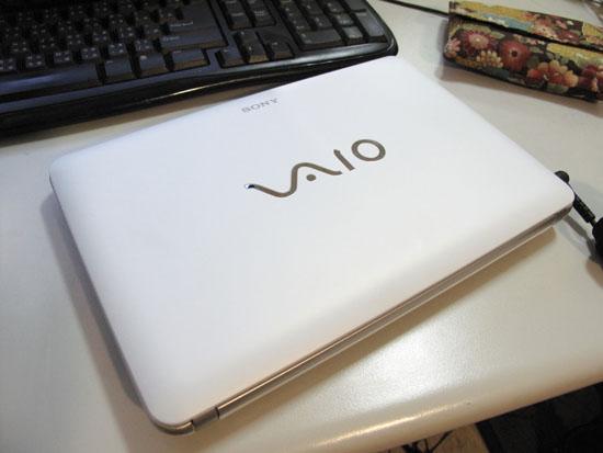 2009/11/22 買了VAIO