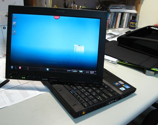 2010/7/4 此生敗的最貴NB (Lenovo X201t)