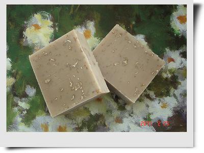 蜂蜜燕麥皂