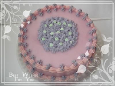 蛋糕手工皂~薰衣草