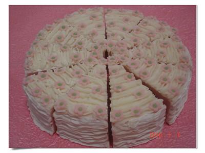 玫瑰香氛蛋糕皂