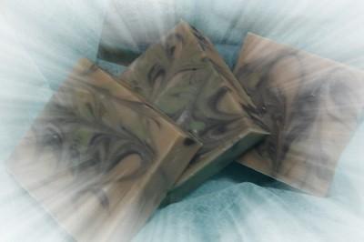 綠薄荷炭母乳皂