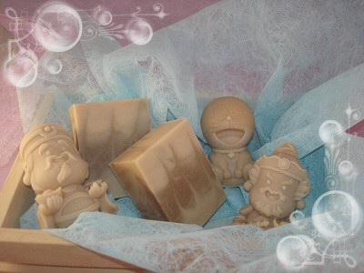 海藻緊實母乳皂