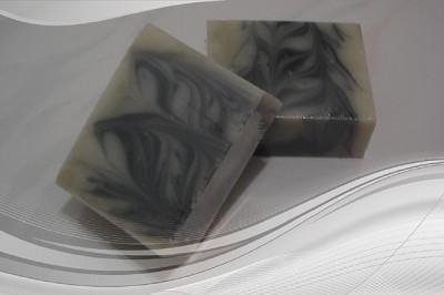 綠薄荷炭皂