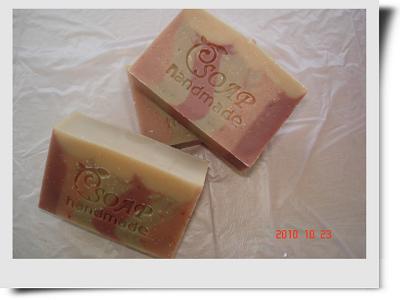 紅綠石泥母乳皂