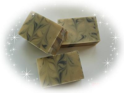 清涼薄荷炭母乳皂
