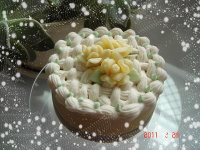 玫瑰蛋糕母乳皂