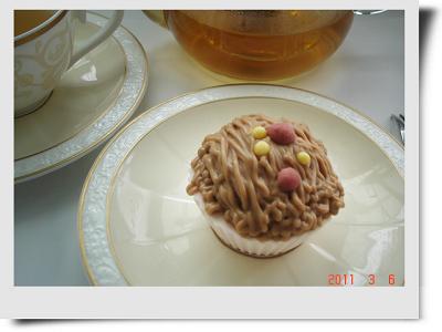 茶玫瑰蛋糕皂