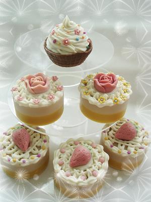 梔子花蛋糕皂