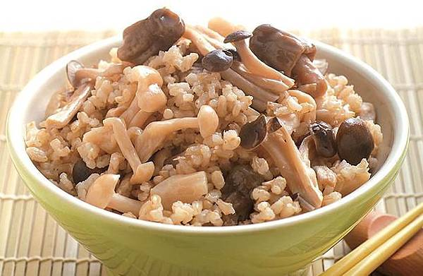 養生雜糧菇飯