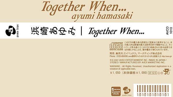 Together When...歌迷自製海外盤側標
