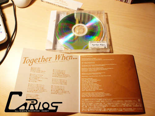 Together When...歌迷自製實物