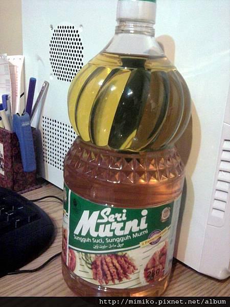 從馬來西亞搬回來的棕櫚油