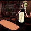 古老書房與女僕