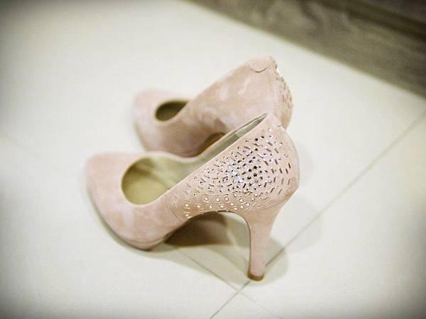 MELROSE 亮鑽粉色跟鞋 (3).JPG