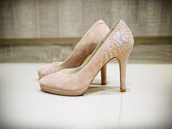 MELROSE 亮鑽粉色跟鞋 (2).JPG