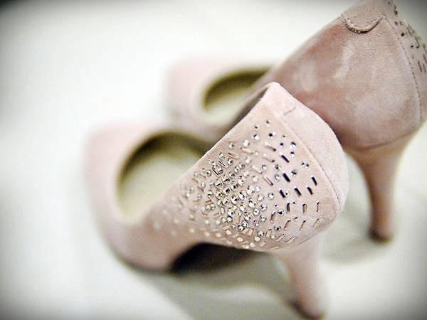 MELROSE 亮鑽粉色跟鞋 (4).JPG
