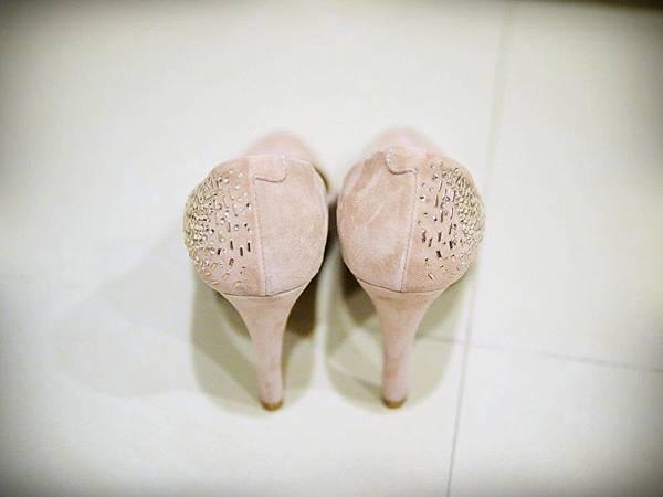 MELROSE 亮鑽粉色跟鞋 (6).JPG
