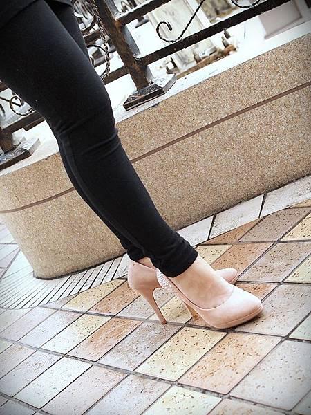 MELROSE 亮鑽粉色跟鞋 (10).JPG
