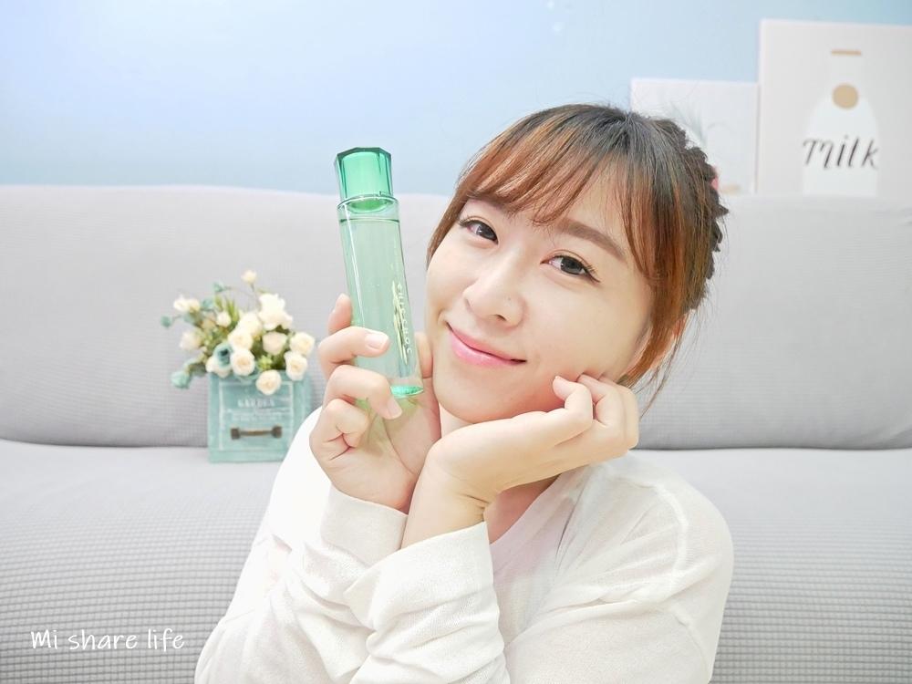 CHIC CHOC植萃舒活化粧水-使用後