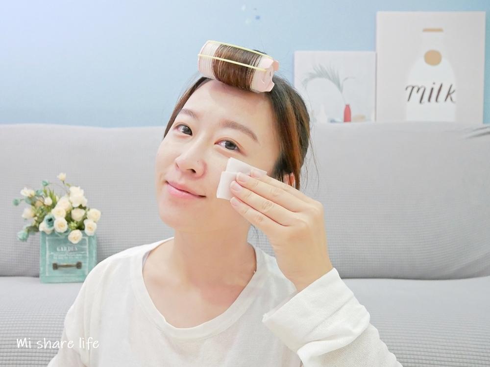 CHIC CHOC植萃舒活化粧水-使用中