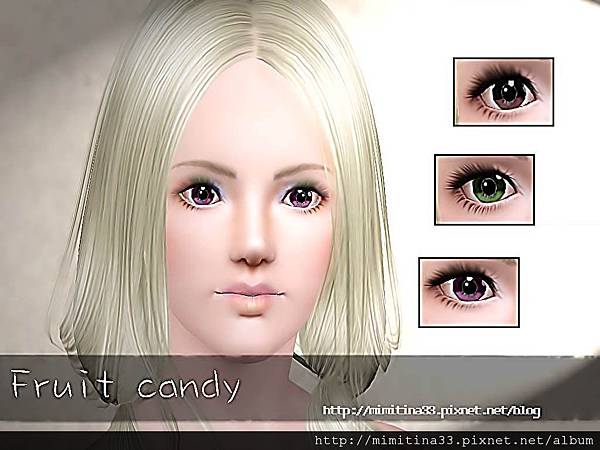 fruit candy eye