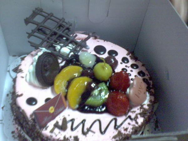 麻麻買的cake