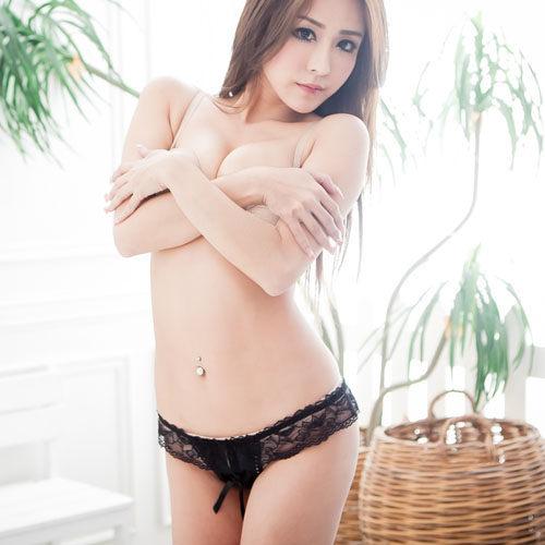 性感丁字褲~開檔誘人情趣丁字褲