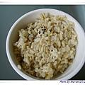 有機糙米飯