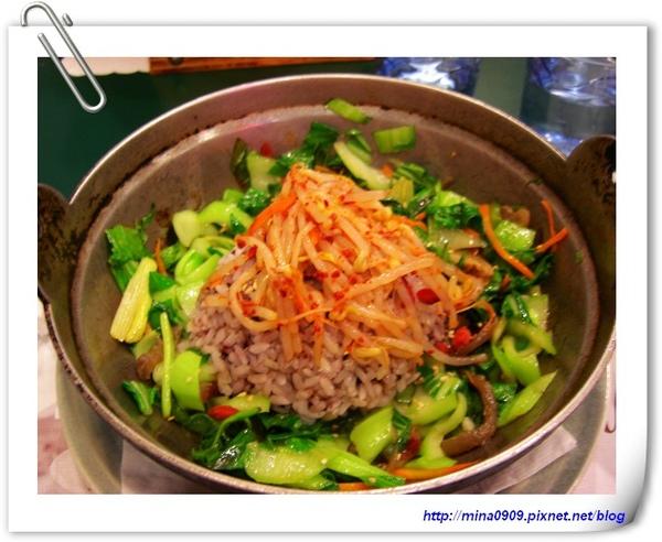 采楓健康蔬食-韓式鐵鍋飯