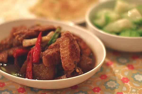 冬瓜燒雞翅