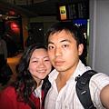 香港機場到了~