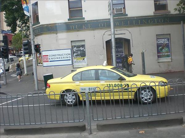 墨爾本的計程車