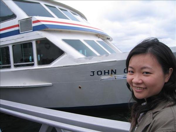 這是我們的遊艇
