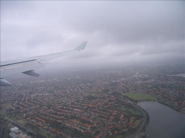 雪梨的上空  美呆了!!