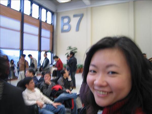 B7登機門