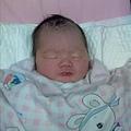 這是出生前三天在醫院