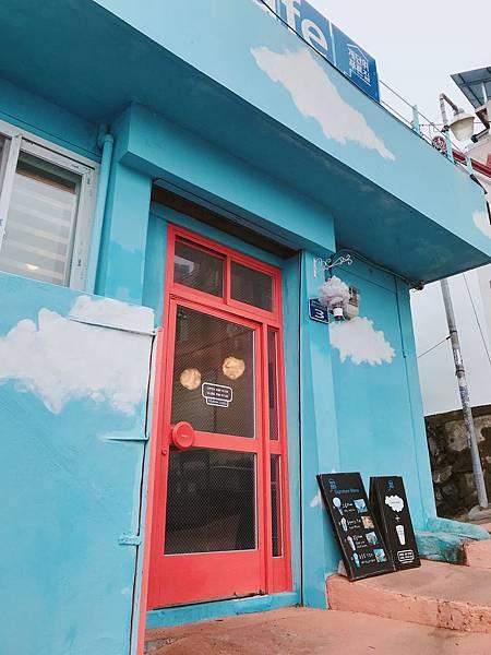 釜山咖啡廳:blue house外觀