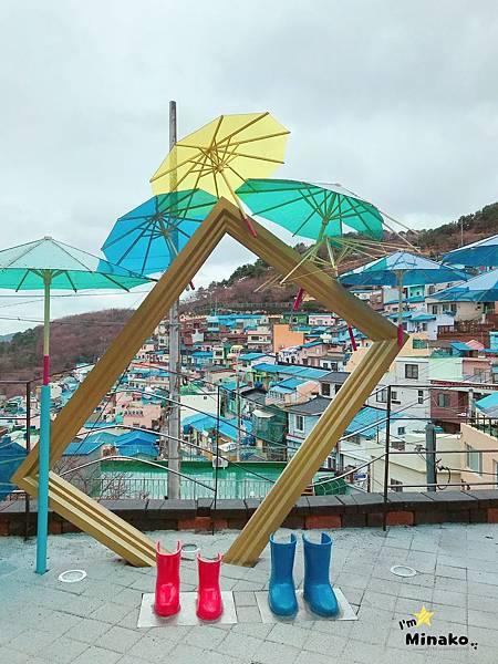 釜山打卡咖啡廳:blue house