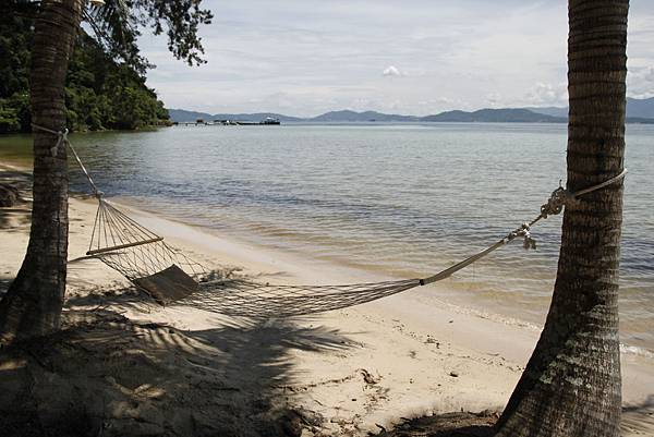 沙巴亞庇住宿推薦:Gaya Island Resort 加雅島渡假村沙灘