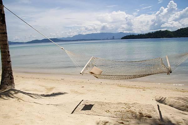 亞庇住宿:Gaya Island Resort 加雅島渡假村沙灘