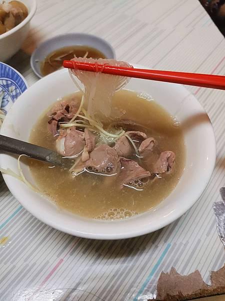 台南三天兩夜 阿明豬心冬粉