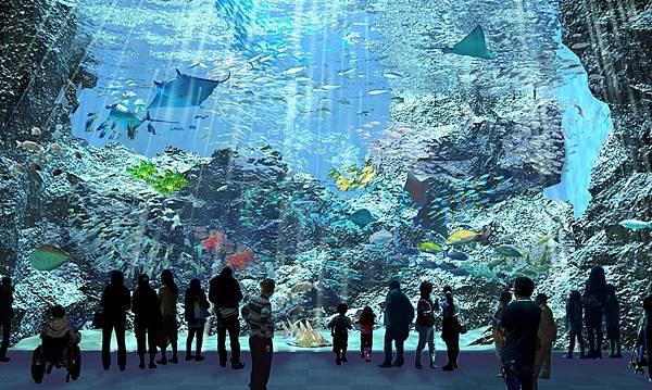 桃園「Xpark」水族館4大展區亮點3