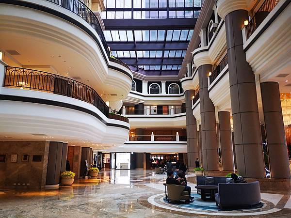 台北君悅酒店大廳