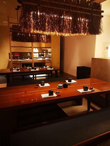 台北君悅酒店彩日本料理座位