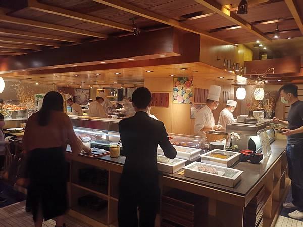 台北君悅酒店彩日本料理海鮮