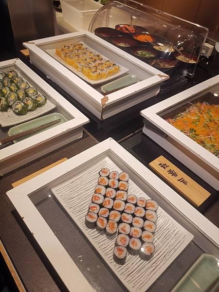 台北君悅酒店彩日本料理吃到飽壽司