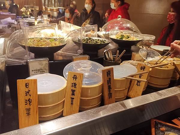 台北君悅酒店彩日本料理泡菜區