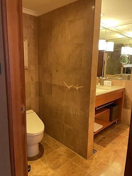 JR東日本大飯店台北 行政套房衛浴設備